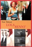 Lola Rennt - German DVD cover (xs thumbnail)