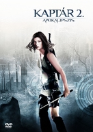 Resident Evil: Apocalypse - Hungarian Movie Cover (xs thumbnail)