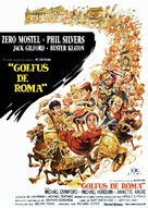 A Funny Thing Happened on the Way to the Forum - Spanish Movie Poster (xs thumbnail)