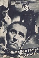The Curse of Frankenstein - Austrian poster (xs thumbnail)