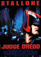 Judge Dredd - French Movie Poster (xs thumbnail)