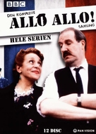 """'Allo 'Allo!"" - Danish DVD movie cover (xs thumbnail)"