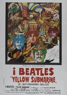 Yellow Submarine - Italian Movie Poster (xs thumbnail)