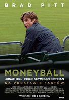 Moneyball - Polish Movie Poster (xs thumbnail)