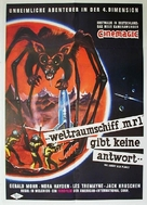 The Angry Red Planet - German Movie Poster (xs thumbnail)