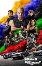 Fast & Furious 9 - Thai Movie Poster (xs thumbnail)
