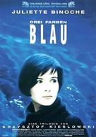 Trois couleurs: Bleu - German Movie Poster (xs thumbnail)