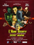 Sherlock Holmes and the Secret Weapon - French Re-release poster (xs thumbnail)