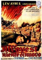 All Quiet on the Western Front - Italian Movie Poster (xs thumbnail)