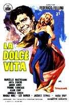 La dolce vita - Spanish Movie Poster (xs thumbnail)