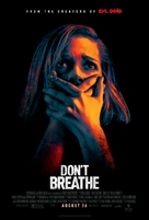 Don't Breathe - Theatrical movie poster (xs thumbnail)