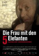 Die Frau mit den 5 Elefanten - Swiss Movie Poster (xs thumbnail)