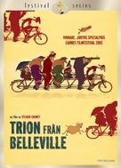 Les triplettes de Belleville - Swedish DVD movie cover (xs thumbnail)