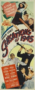 Sensations of 1945 - Movie Poster (xs thumbnail)