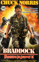 Braddock: Missing in Action III - German VHS movie cover (xs thumbnail)