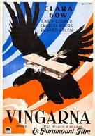 Wings - Swedish Movie Poster (xs thumbnail)