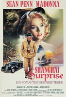 Shanghai Surprise - German Movie Poster (xs thumbnail)