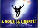 À nous la liberté - French Movie Poster (xs thumbnail)