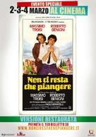 Non ci resta che piangere - Italian Movie Poster (xs thumbnail)