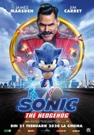 Sonic the Hedgehog - Romanian Movie Poster (xs thumbnail)