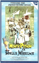 Monty Python and the Holy Grail - Finnish VHS movie cover (xs thumbnail)