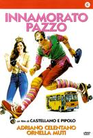 Innamorato pazzo - Italian DVD cover (xs thumbnail)