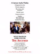 The Accused - Movie Poster (xs thumbnail)