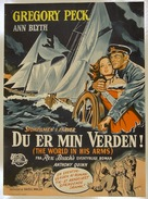 The World in His Arms - Danish Movie Poster (xs thumbnail)