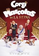 The Queen's Corgi - Spanish Movie Poster (xs thumbnail)
