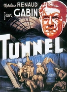 Le tunnel - French Movie Poster (xs thumbnail)