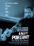 À bout portant - French Movie Poster (xs thumbnail)