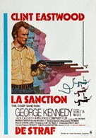The Eiger Sanction - Belgian Movie Poster (xs thumbnail)