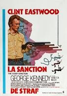 The Eiger Sanction - Belgian Movie Poster (xs thumbnail)
