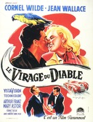 The Devil's Hairpin - French Movie Poster (xs thumbnail)