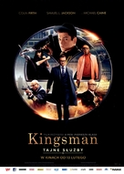 Kingsman: The Secret Service - Polish Movie Poster (xs thumbnail)
