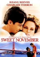 Sweet November - French Movie Cover (xs thumbnail)
