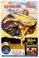 Affair in Trinidad - Australian Movie Poster (xs thumbnail)