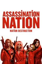 Assassination Nation - Canadian Movie Cover (xs thumbnail)