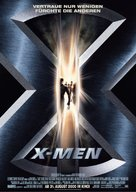 X-Men - German Movie Poster (xs thumbnail)