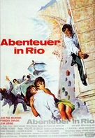 L'homme de Rio - German Movie Poster (xs thumbnail)