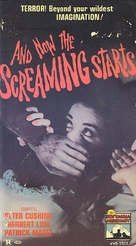 And Now the Screaming Starts! - VHS movie cover (xs thumbnail)