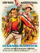 McLintock! - French Movie Poster (xs thumbnail)