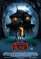 Monster House - Norwegian Movie Poster (xs thumbnail)