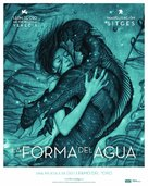 The Shape of Water - Spanish Movie Poster (xs thumbnail)