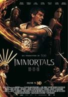 Immortals - Italian Movie Poster (xs thumbnail)