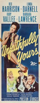 Unfaithfully Yours - Movie Poster (xs thumbnail)