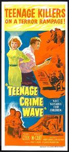 Teen-Age Crime Wave - Australian Movie Poster (xs thumbnail)