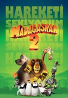 Madagascar: Escape 2 Africa - Turkish Movie Poster (xs thumbnail)
