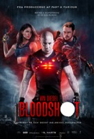 Bloodshot - Danish Movie Poster (xs thumbnail)