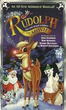 Rudolph the Red-Nosed Reindeer: The Movie - VHS cover (xs thumbnail)